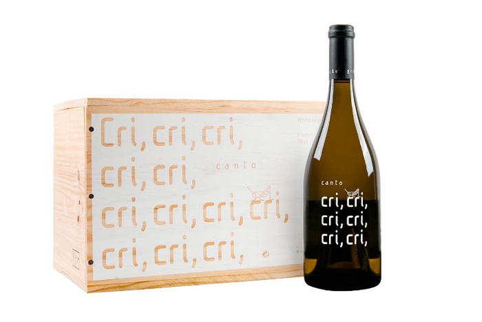 Packaging El Grillo Cri Cri Bodega Somontano